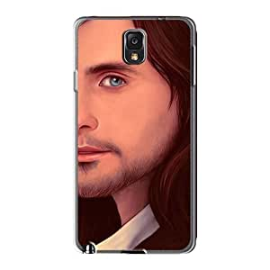 Bumper Hard Phone Cover For Samsung Galaxy Note3 With Support Your Personal Customized Fashion 30 Seconds To Mars Band 3STM Image AlainTanielian