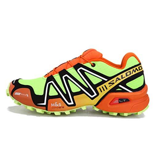 Qianliuk Outdoor Men Trekking Shoes Comfortable Antiskid Camouflage...