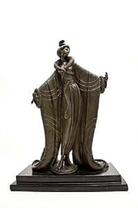 Bronze Erte Femme Deluxe Art Deco Reproduction