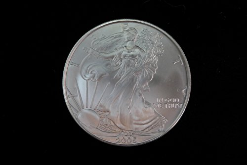 2005 American Eagle 1oz. Silver Dollar Brilliant Uncirculated