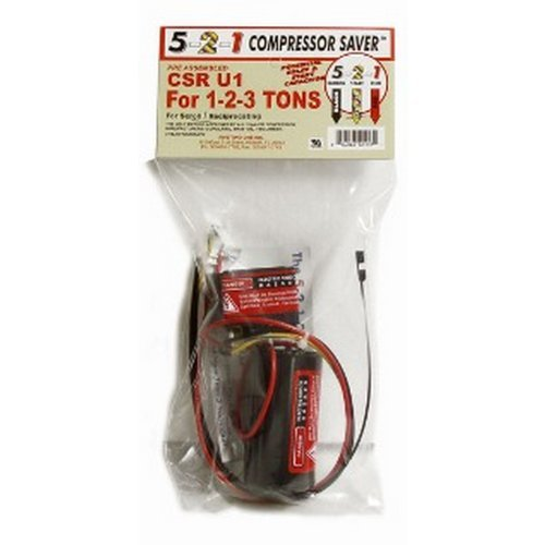 compressor saver csr u1 hard start capacitor hvac controls compressor saver csr u1 hard start capacitor hvac controls amazon com