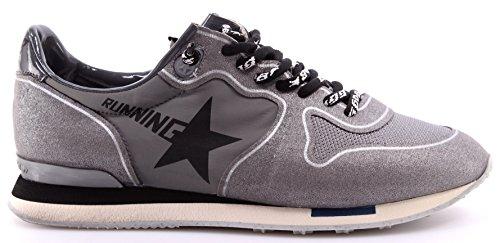 GOLDEN GOOSE Calzado Sneakers Mujer Running Athl Dept Gray Glitter Italy Nueve