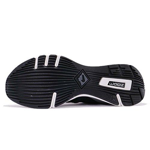 Nuance De Zoom Air Nike Hommes, Noir / Gris Foncé-sommet Blanc-noir, 12 M Us