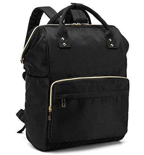 53fb3e6602 BLUBOON Laptop Casual School Backpack Travel Student Bookbag Water  Resistant Wide Open Backpack Purse for Women Men