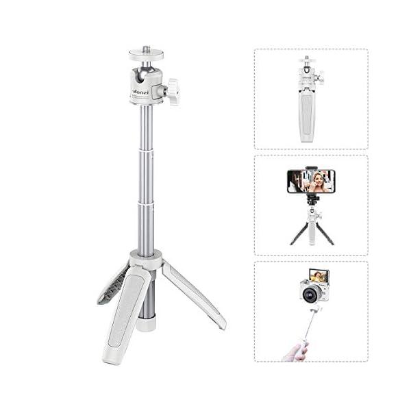 Mini Portable Camera Tripod for iPhoneSamsungGoogle Smartphone ClampAction CamWebcam Lightweight