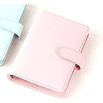 Passion leather spiral notebook Original office personal diary/week planner/agenda organizer Cute ring stationery binder A6