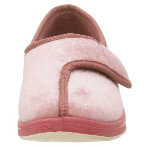 Foamtreads Women's Jewel Slipper,8 C/D US,Dusty Rose