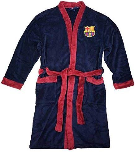 Offizieller FC Barcelona La Liga Bademantel f/ür Erwachsene