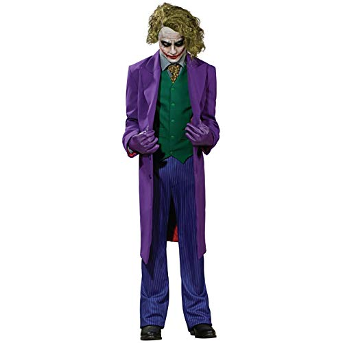 Haloween Costume Ideas Men (Rubie's Inc Dark Knight The Joker Grand Heritage Costume)