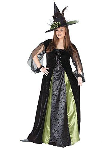 Fun World Women's Goth Maiden Witch Adult Costume,