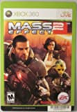 BACKER CARD FOR: MASS EFFECT 2 - XBOX 360 - (Not The Video Game)
