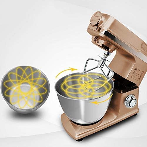 Batteur électrique sur Socle de 1000W avec Bol de 5 Litres, Idéal pour Battre Des œufs en Neige, Préparer de La Crème, Des Génoises et Gâteaux
