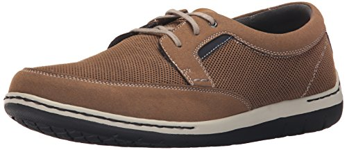 (Dunham Men's Fitswift Oxford,Tan,12 2E US)