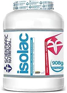 Isolac Whey Protein 908g Fresa Isolac®: Amazon.es: Salud y ...