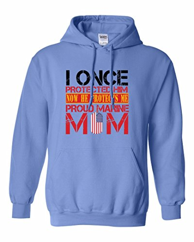 Proud Mom Sweatshirt - Proud Mother of her Marine Son