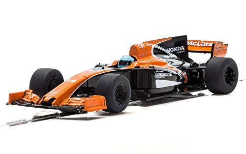 (Scalextric Formula One World Championships McLaren Honda MCL32 Car 2017 1:32 Slot Race Car C3956)