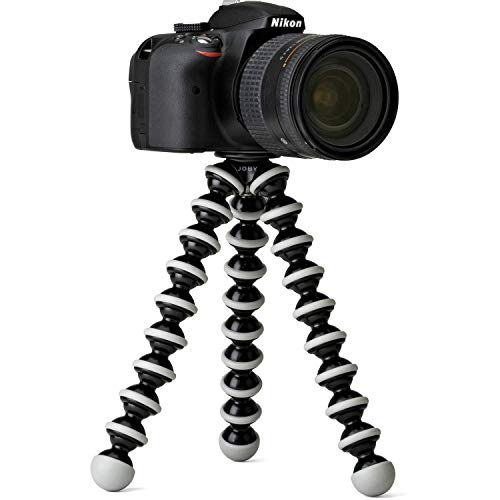 SRYL   Flexible Octopus Foldable Tripod for Camera, DSLR and Smartphones with Universal Mobile Attachment