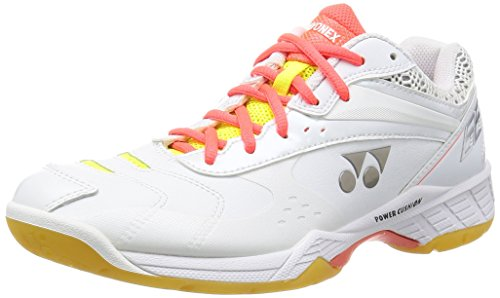 Yonex badminton scarpe Power CUSHION66 SHB66 bianco (011), Bianco