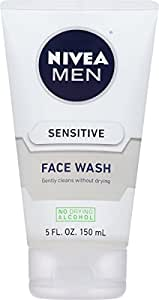 NIVEA Men Sensitive Face Wash 5 Fluid Ounce