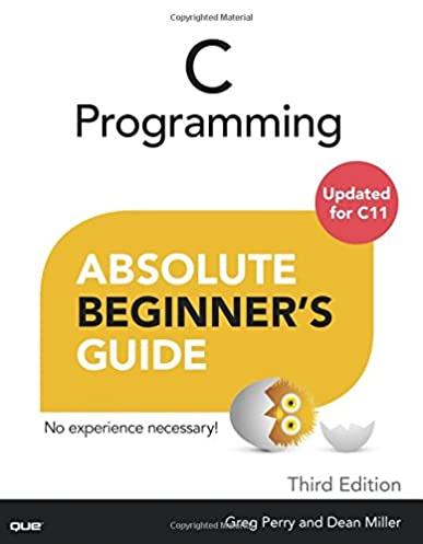 amazon com c programming absolute beginner s guide 3rd edition rh amazon com c programming absolute beginner's guide pdf c programming absolute beginner's guide (3rd edition)