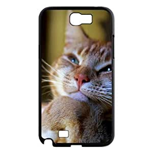 Cats The Unique Printing Art Custom Phone Case for Samsung Galaxy Note 2 N7100,diy cover case ygtg-304423
