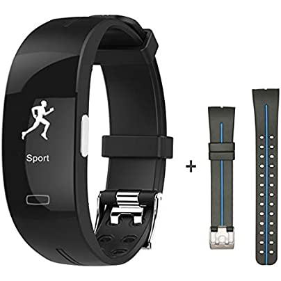 HFXLH blood pressure wrist band heart rate monitor PPG ECG smart bracelet Activit fitness tracker electronics wristband Estimated Price £82.98 -