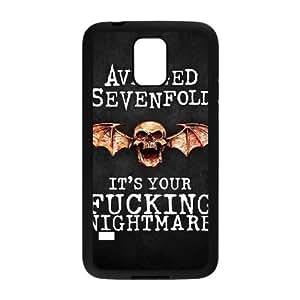 Samsung Galaxy S5 Phone Case Black Avenged Sevenfold TYTH3818523