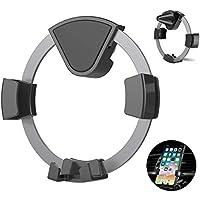 Kissral Air Vent Auto-Locking Car Phone Holder with Gravity Sensor (Dark gray)