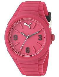 PUMA Unisex PU103592004 Gummy Analog Display Analog Quartz Pink Watch