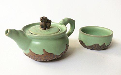 Eternal Loves L002 Chinese Kung Fu Tea Set - Porcelain Celad