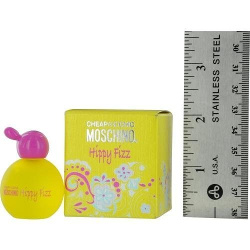 MOSCHINO CHEAP & CHIC HIPPY FIZZ by Moschino for WOMEN: EDT .16 OZ MINI (note* minis approximately 1-2 inches in height)