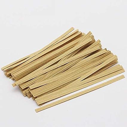 Amazon.com: APUXON - Bridas giratorias de papel para bolsas ...