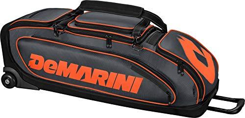 DeMarini Special Ops Wheeled Bag WTD9409 - Charcoal/Orange