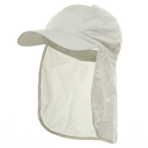Flap Hats (02)-White OSFM