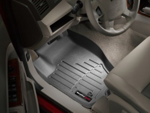 WeatherTech Custom Fit Front FloorLiner for Select Jeep Commander/Grand Cherokee Models (Black)