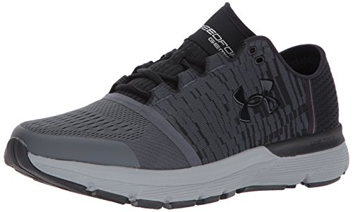 the latest dd169 ba5f7 Under Armour Men's Speedform Gemini 3 Graphic-Wide (2E) Running Shoe  Stealth Gray (102)/Steel 7 US