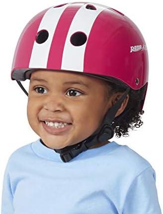Details about  /RADIO FLYER BIKE HELMET AC100 CHILD SIZE RED//WHITE
