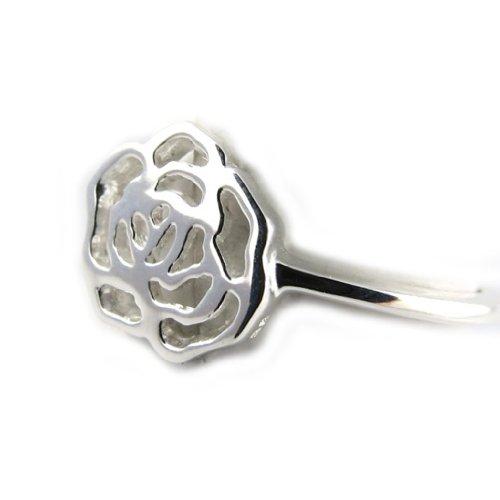 Bague Argent 'Rosa Romantica'