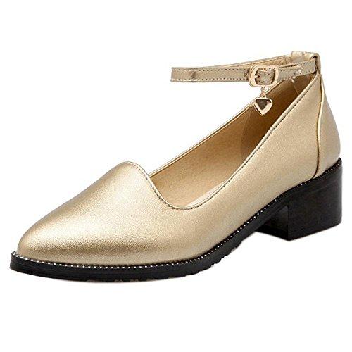 Gold Mujer Para Zanpa Zapatos 2 p1vHUqI