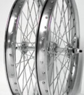 Wheel Master Rear Bicycle Wheel 20 x 2.125, 36H Steel, Bolt On, Silver