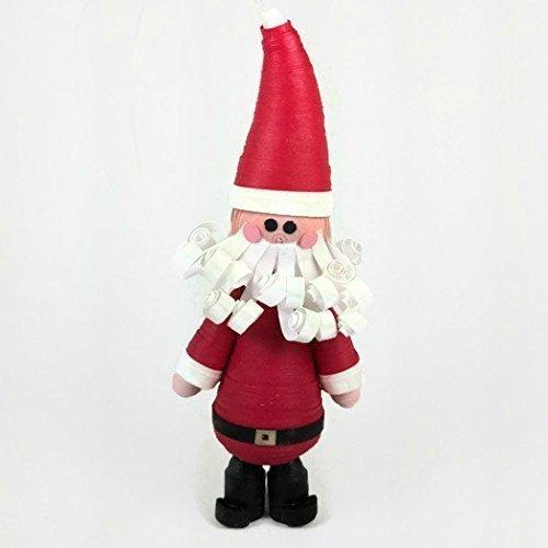 Amazon Com Santa Claus Paper Quilling Christmas Ornament Handmade