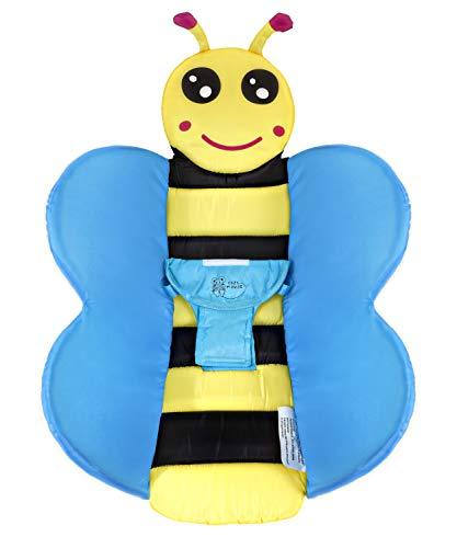 (Cozy Mouse Baby Bath Tub Insert Infant Sink Bath Newborn Bath Sponge Baby Bath Pillow (Blue))
