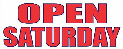 Open Saturday Banner