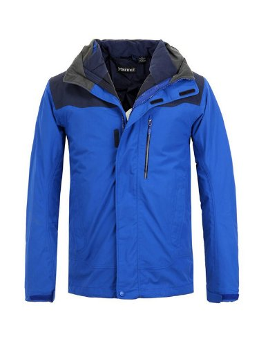 Marmot Bastione Component Jacket - Men's Surf / Peacoat Medium
