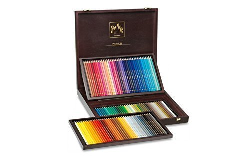 Pablo Colored Pencil Set Of 120 Wooden by Caran d'Ache by CREATIVE ART MATERIALS