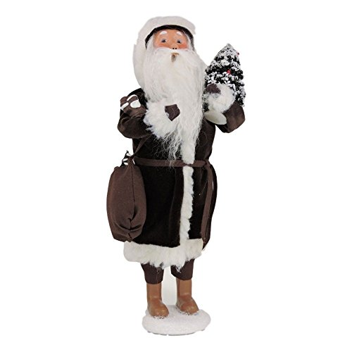 Byers' Choice Chocolate Santa Claus #3166