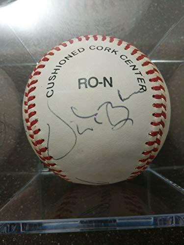 (MLB HOF Autographed Signed Baseball Rollie Finger/Lou Brock/Vida Blue Memorabilia JSA - Certified Signature)