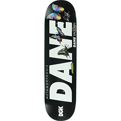 空クラッシュ印象的DGKスケートボードDane Vaughn Metamorphosisスケートボードデッキ – 8.06インチx 31.875インチ