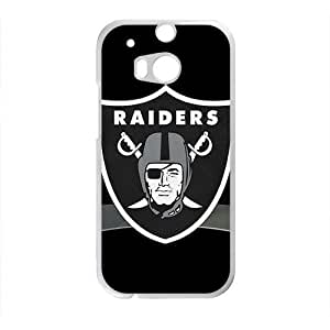 NCCCM oakland raiders flag New Phone Case for HTC One M8