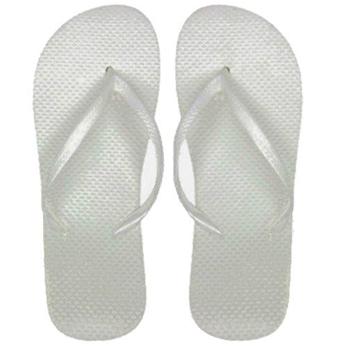 DDI Wholesale Women's White Flip